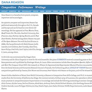 Dana Reason's website image