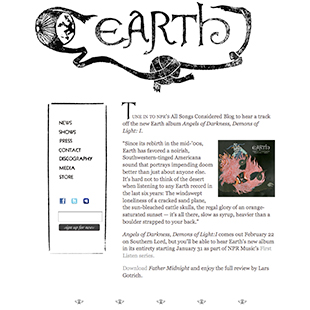Earth website image